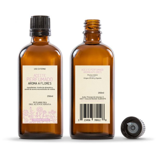 Aceite Corporal Perfume Flores